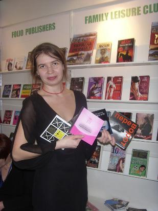 Elena Zaslavskaja auf der Leipziger Buchmesse