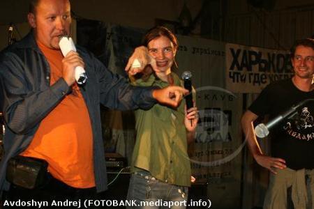 """Persten' Predsedatelja Zemnogo šara"" beim ZEX Festival 2006, Charkiv"