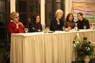 Slavenka Drakulić, Herta Müller, Katharina Raabe, Svetlana Alekseevič, Claudia Dathe