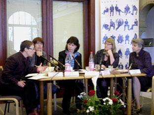 Claudia Dathe, Iris Klose, Sabine Adler, Alexandra Büchler, Annemarie Türk