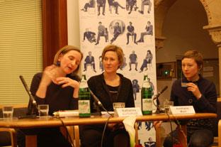 Katharina Narbutovič, Meike Schlüter, Valžyna Mort